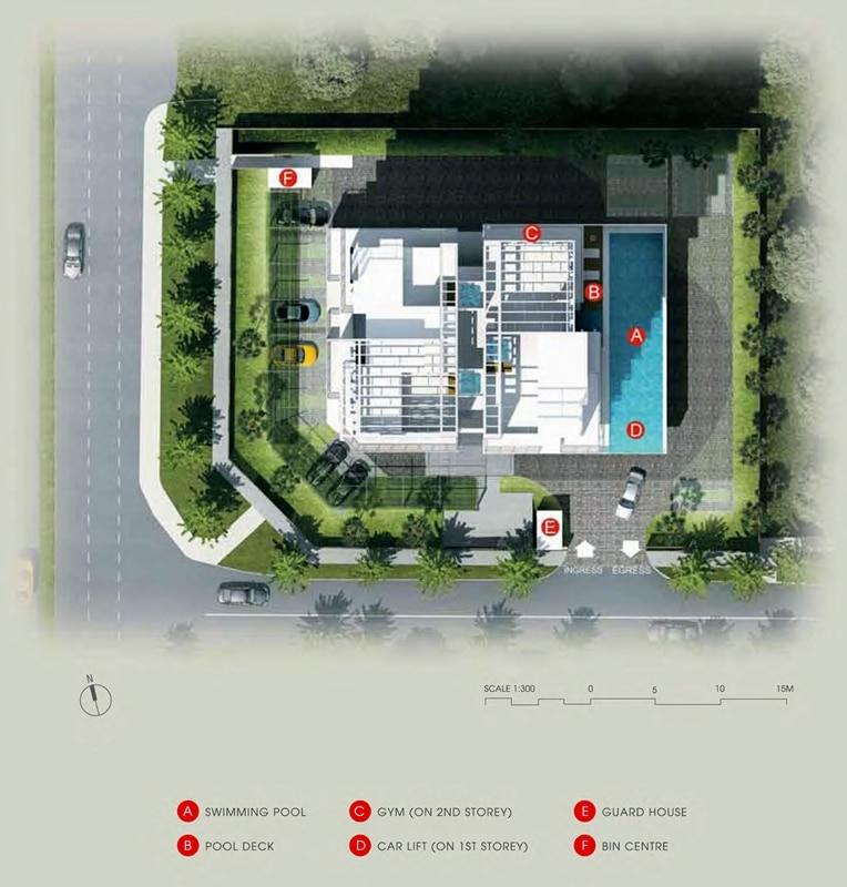 Suites @ Newton Site Plan