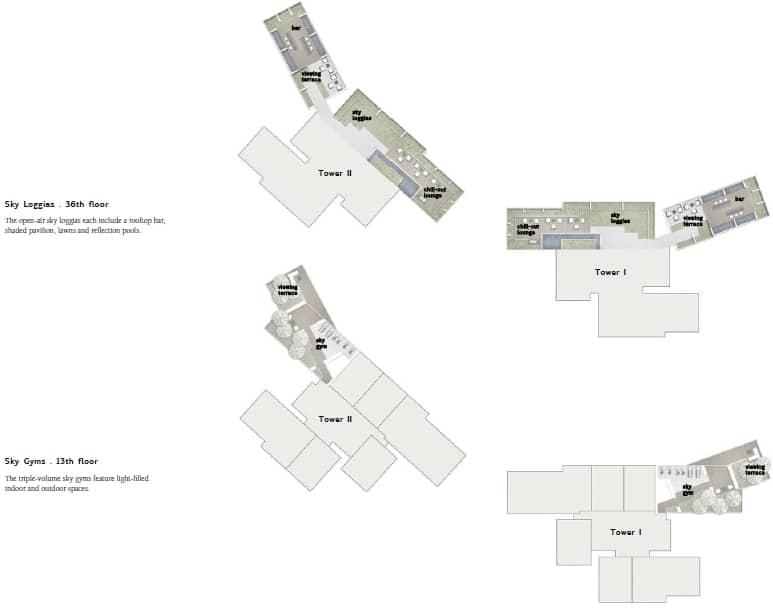 Twin Peaks Site Plan 1