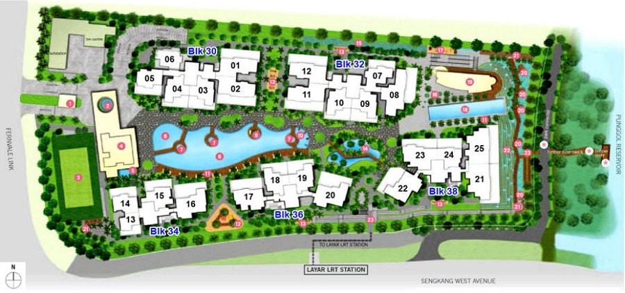 h2o-residences-sitemap