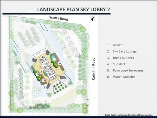 the scotts tower siteplan 2