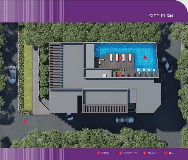 Edenz Loft Site Plan