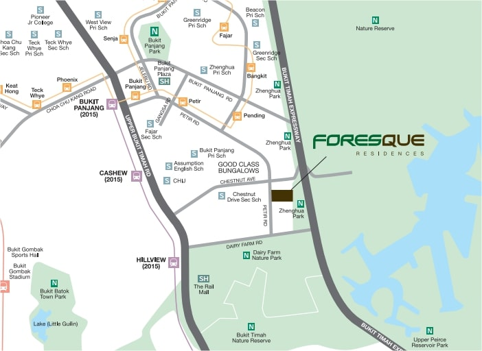 Foresque Map