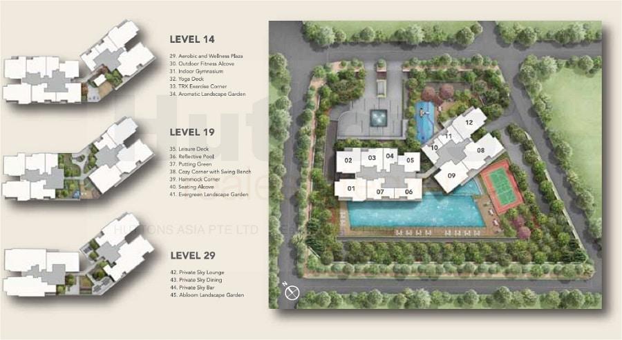 Sturdee Residences Site plan 1