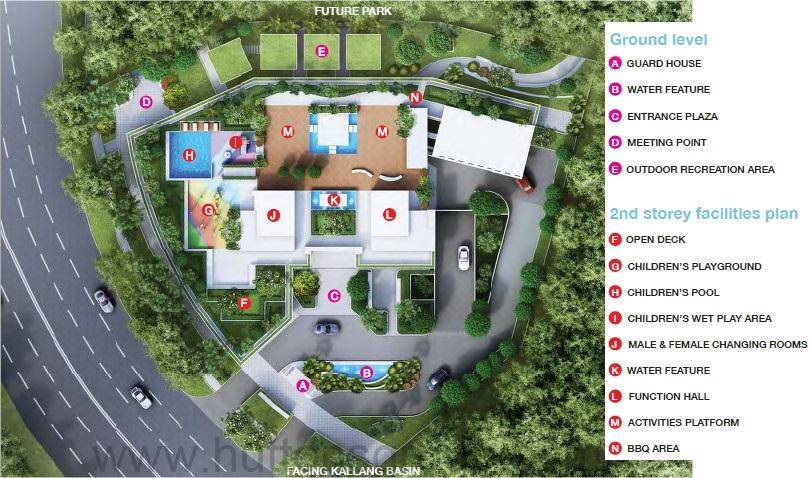 Kallang Riverside Siteplan
