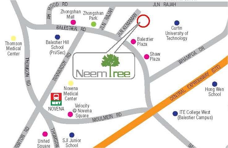 Neem Tree Map
