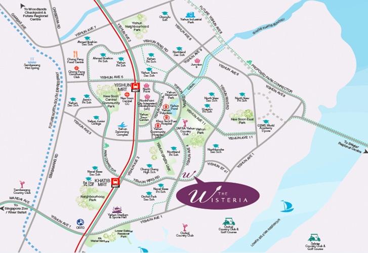 The Wisteria Location