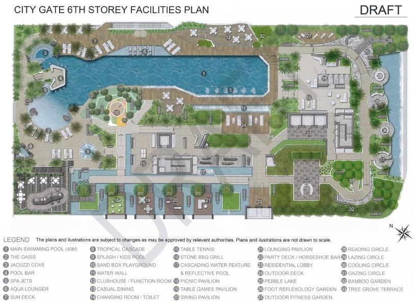 City Gate Site Plan 1