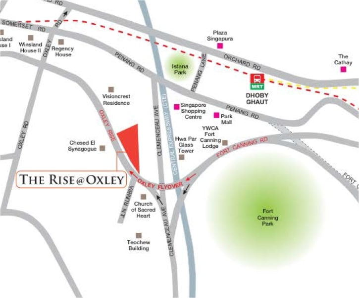 the-rise-at-oxley-map