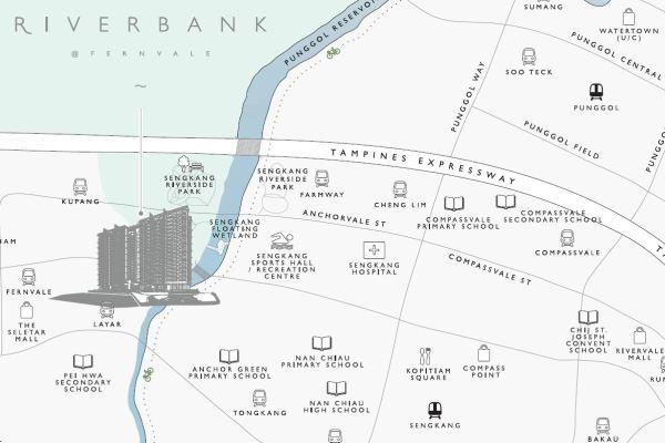 Riverbank Fernvale Map