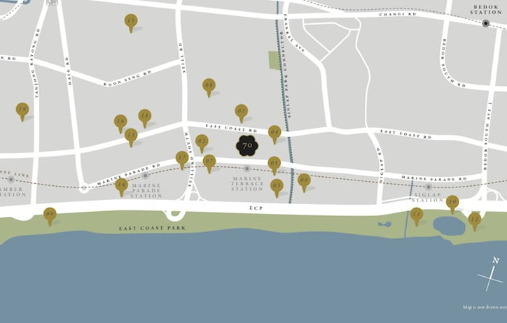 Seventy St Patricks Location Map 1