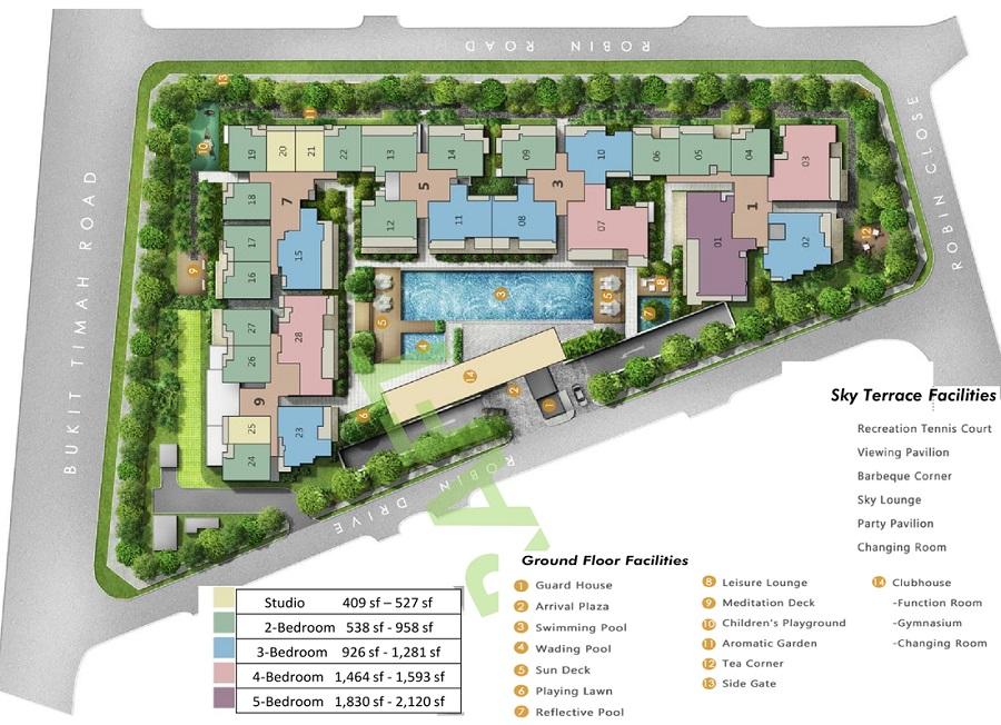 robin_residences_site_plan
