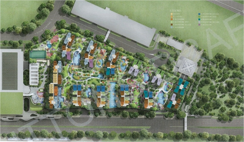 North Park Residences Site Plan
