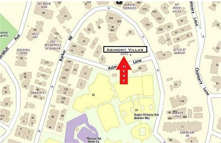 Aismont Villas Location