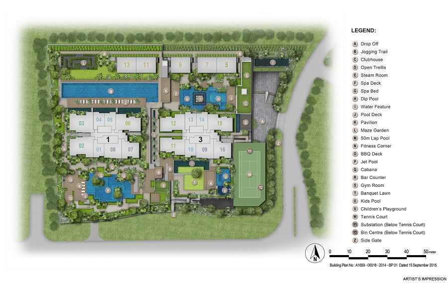 Thomson Impressions Site Plan2