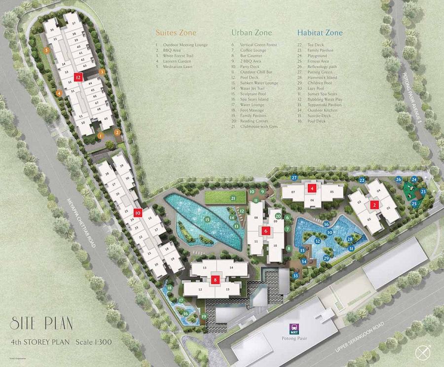 The Poiz Residences Site Plan