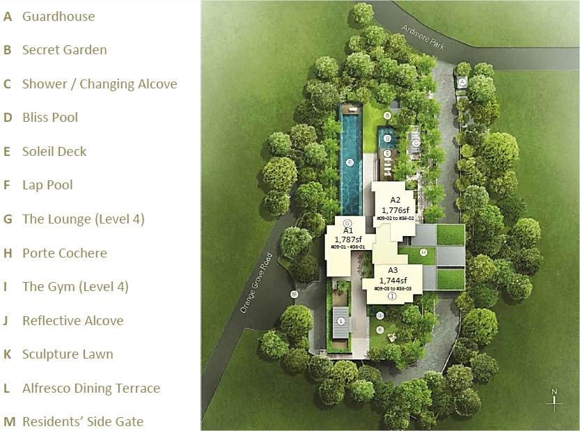Ardmore 3 Site Plan