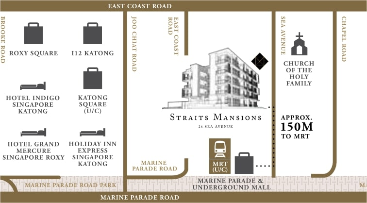 Straits Mansions Map