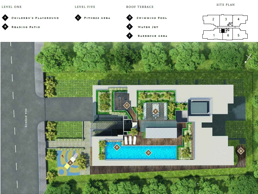 Straits Mansions Site Plan