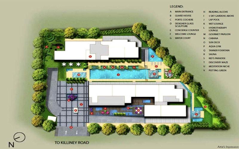 The Boutiq Site Plan