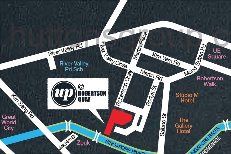 UP@Robertson Quay Map