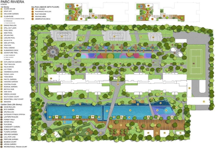 parc-riviera-site-plan