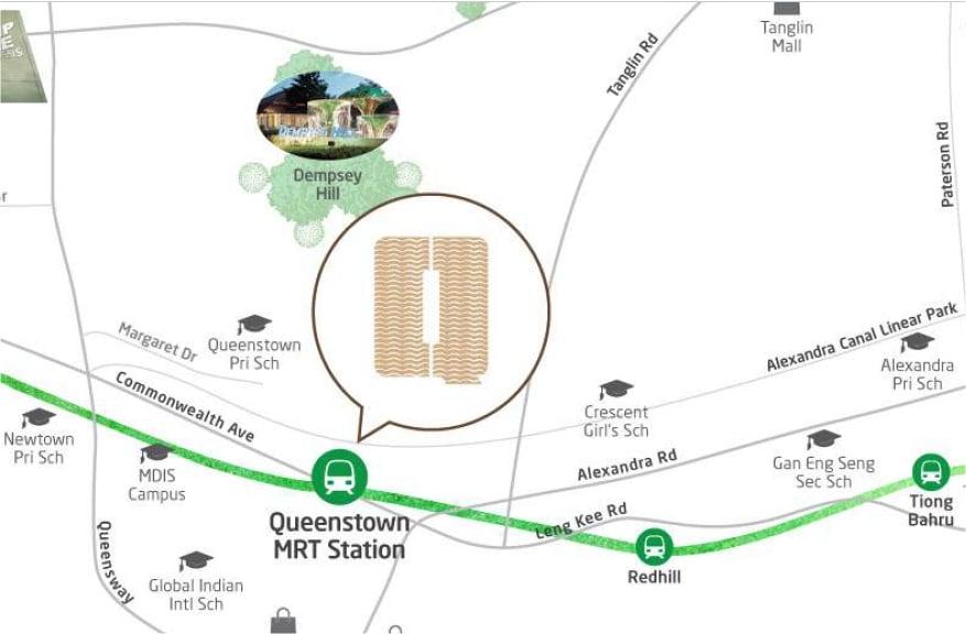 Queens Peak Location Map