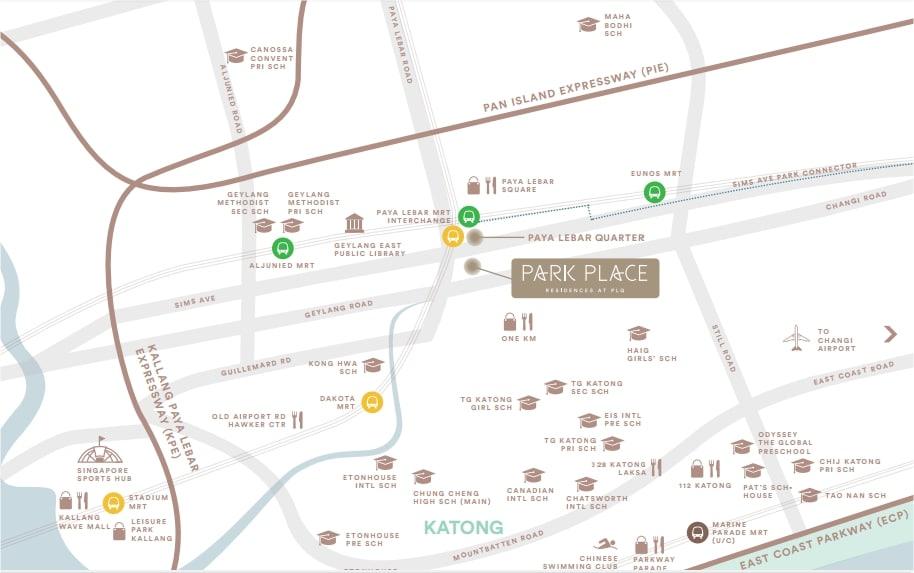 Park Place Residences Map