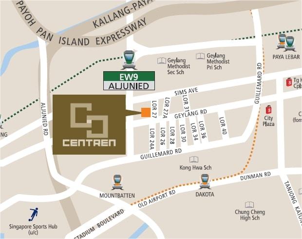 The Centren Map