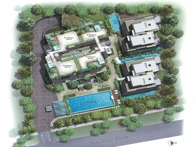 White House Residences Site Plan