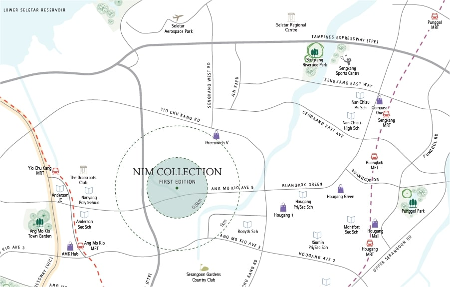 Nim Collection Location Map