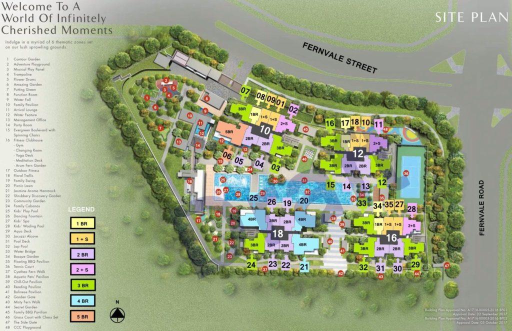Parc Botannia Siteplan