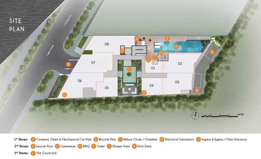 Rezi 35 Site Plan