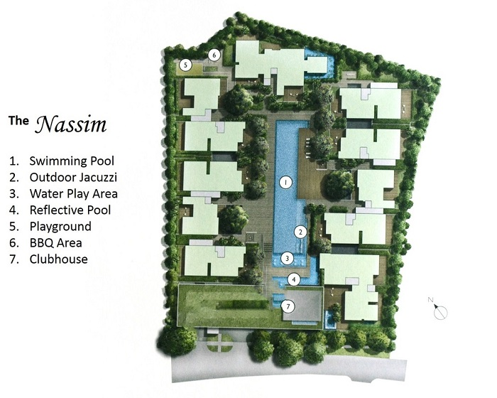The Nassim 纳森华庭 Siteplan