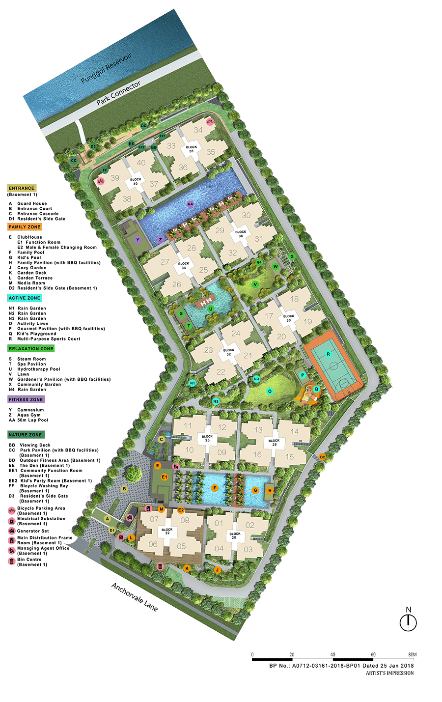 Rivercove Residences Site Plan 1