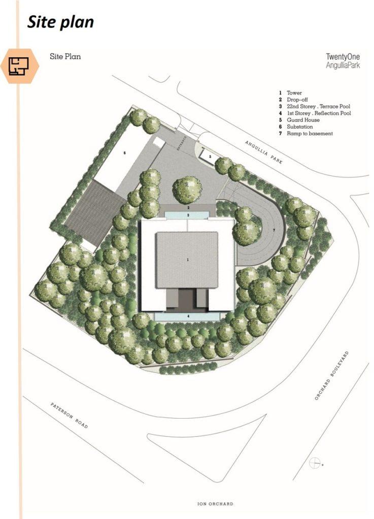 TwentyOne Angullia Site Plan 1