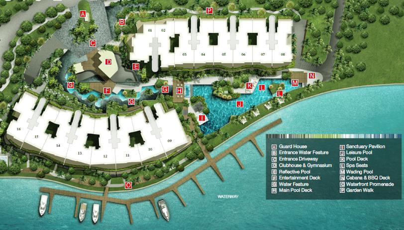 Turquoise 翠珀湾 Site plan