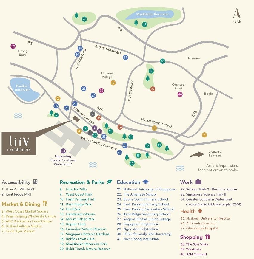 LiiV Residences Location