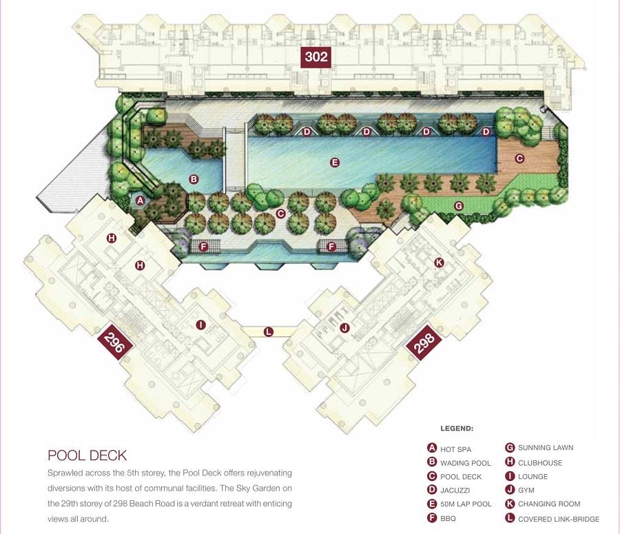 Concourse Skyline Site Plan 2
