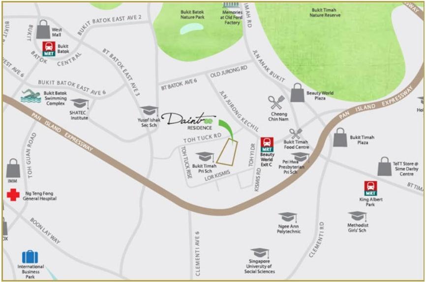 Daintree Residence Location