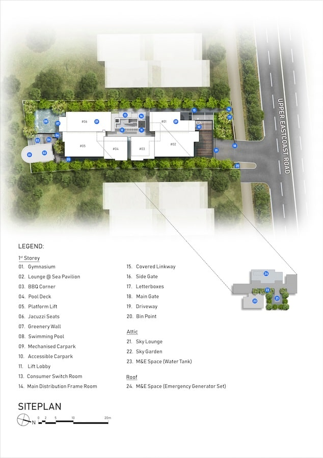 Sea Pavilion Siteplan