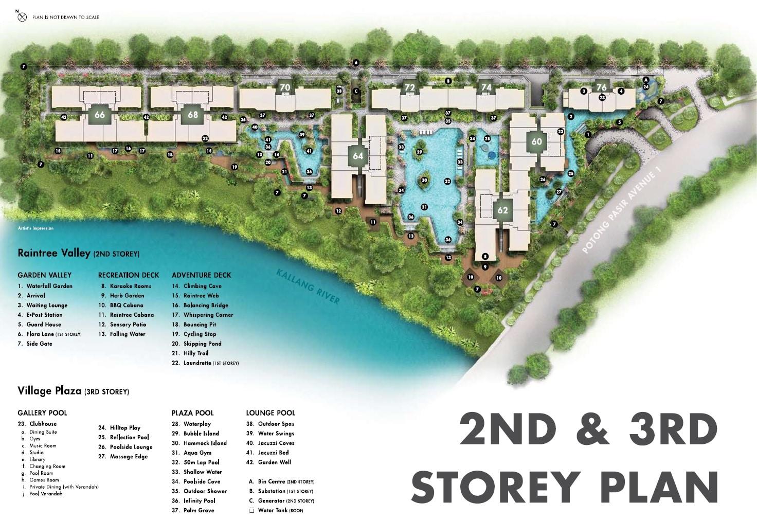 The Tre Ver Site Plan