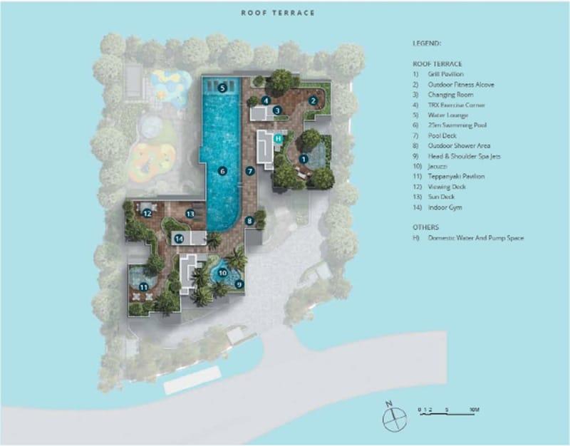 Casa Al Mare Site Plan 2