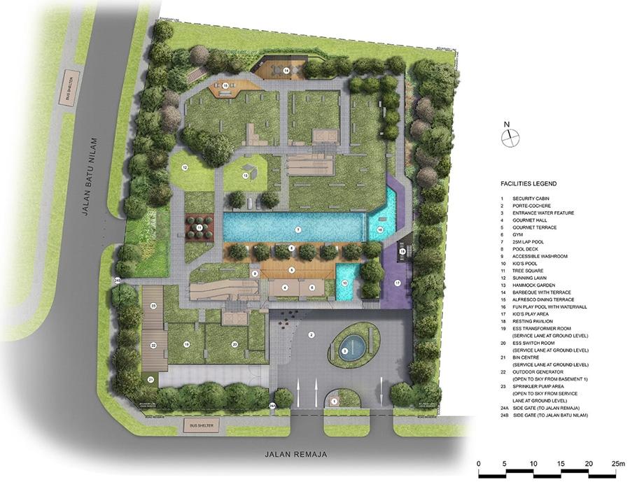 Mont Botanik Site Plan 1