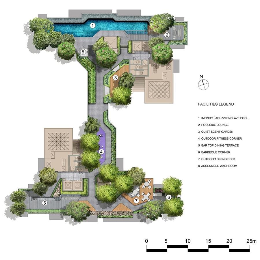 Mont Botanik Site Plan 2