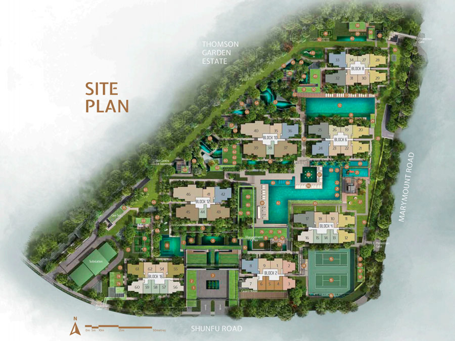 Jadescape Site Plan 1