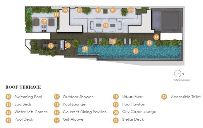 Arena Residences Site Plan 2
