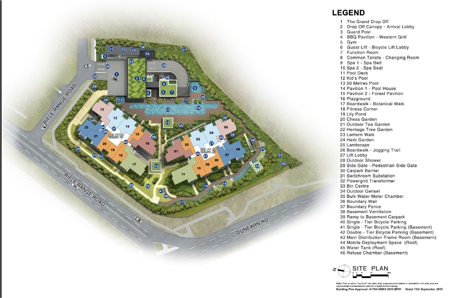 Mayfair Modern Site Plan