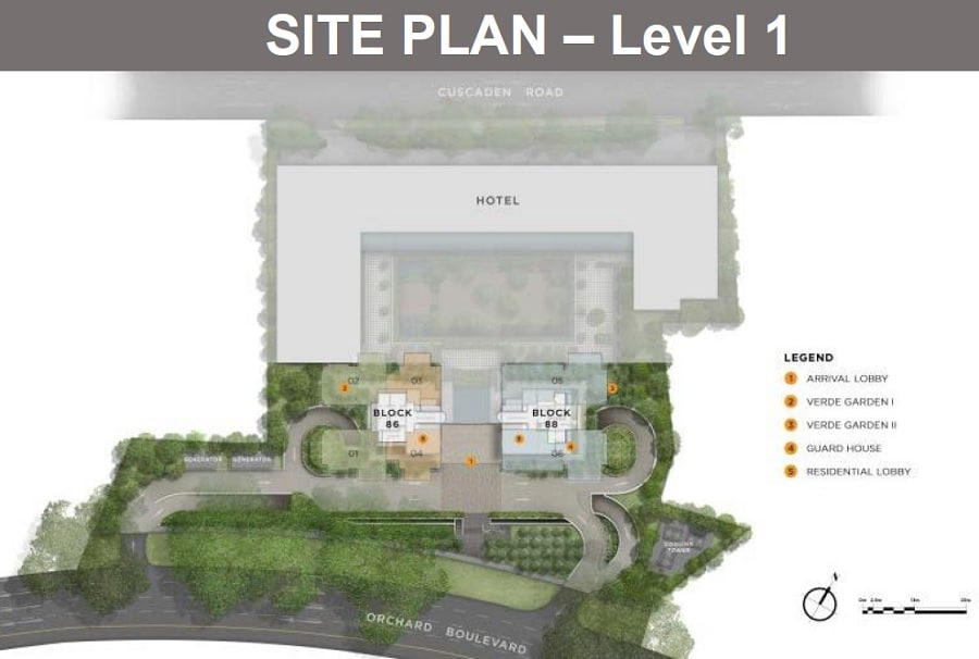 Boulevard 88 铂瑞雅居 Site Plan 1