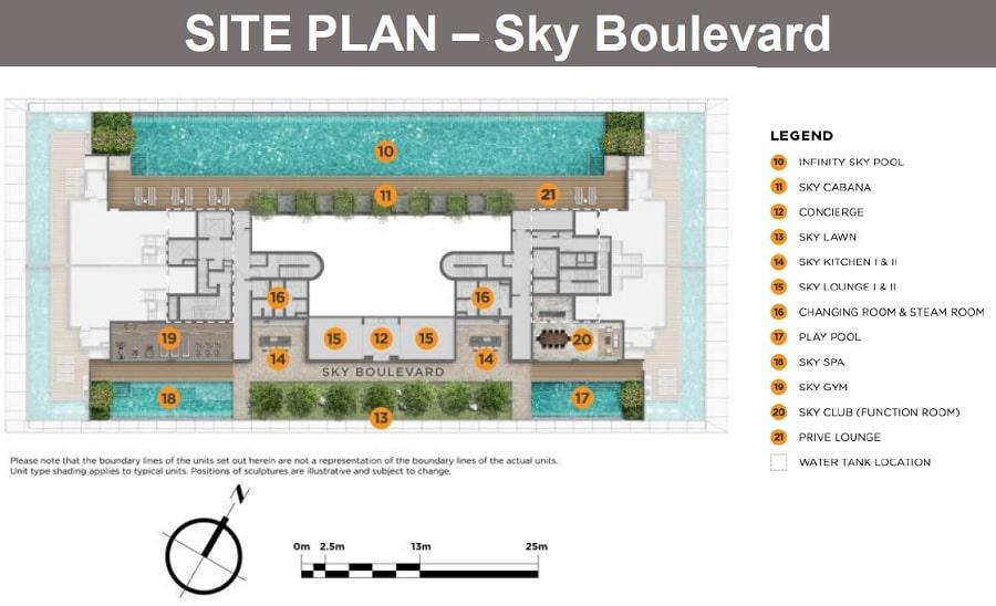 Boulevard 88 铂瑞雅居 Site Plan 3