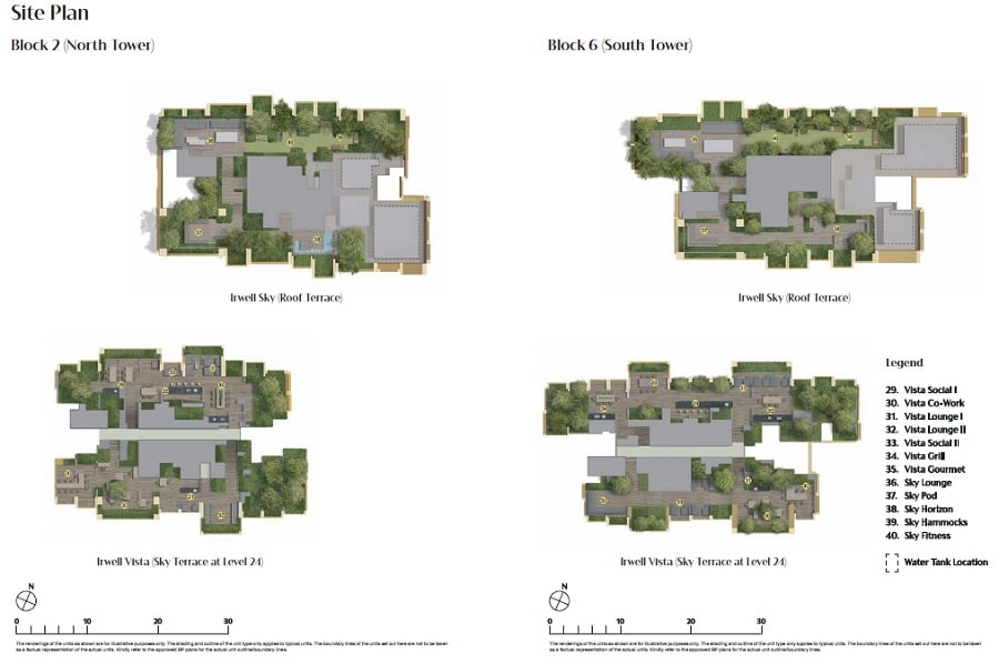 Irwell Hill Residences Site Plan 2